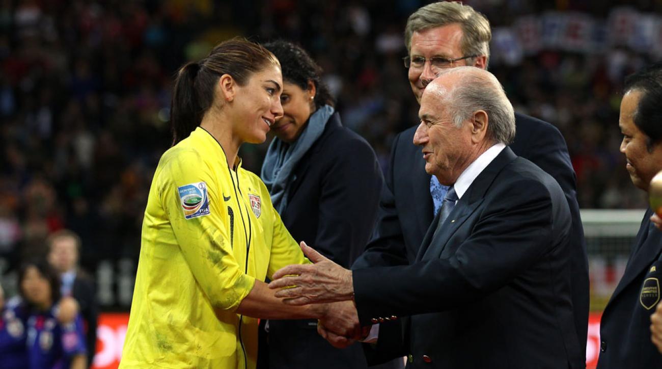 sepp blatter women's world cup final