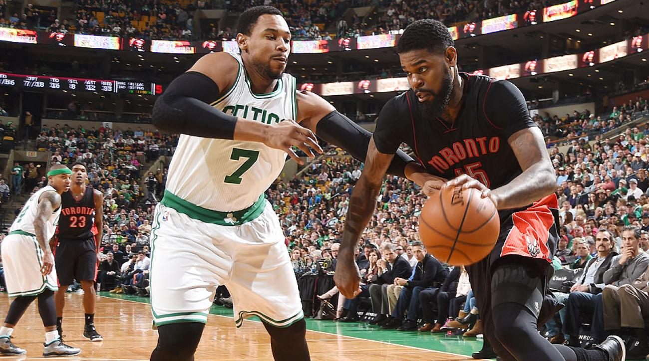 The Celtics and Amir Johnson agreed to a two-year, $25 million deal.