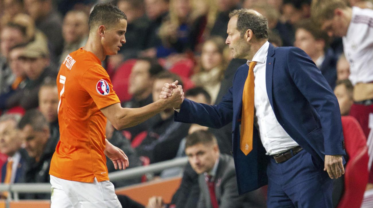 Danny Blind takes over as manager for the Netherlands men's national team