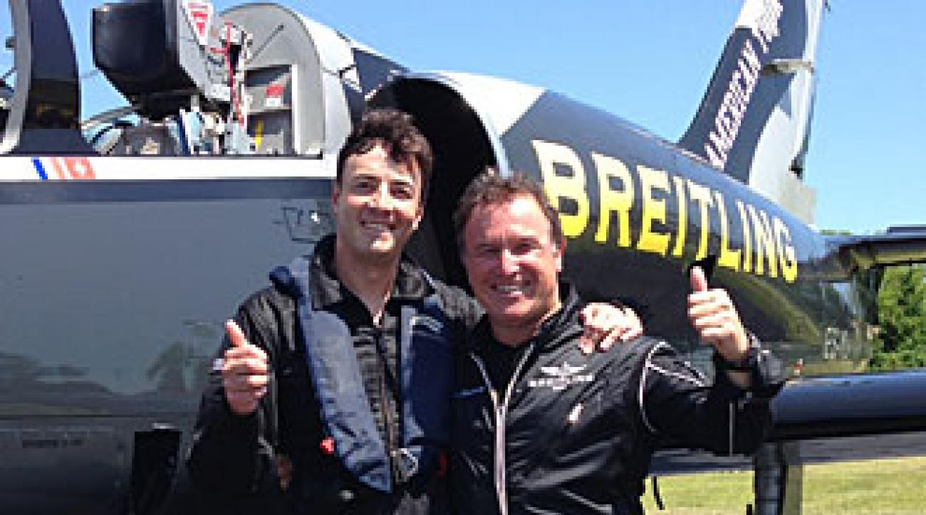 Stephen Cannella, Sports Illustrated and Bernard Charbonnel, Breitling
