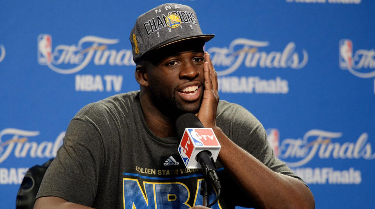draymond green golden state warriors contract talks