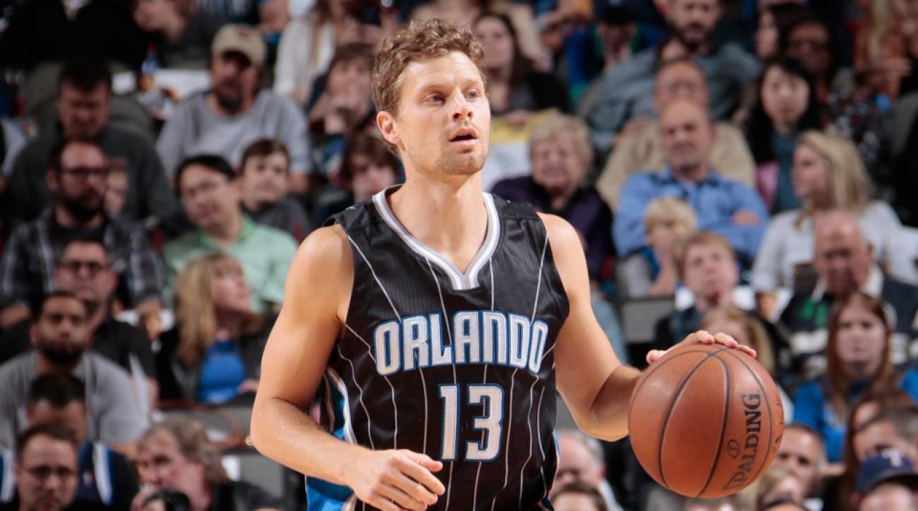 Luke Ridnour traded Magic Hornets Raptors
