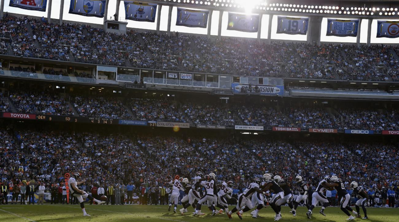 San Diego Chargers job listing says candidate might have to relocate to Los Angeles.