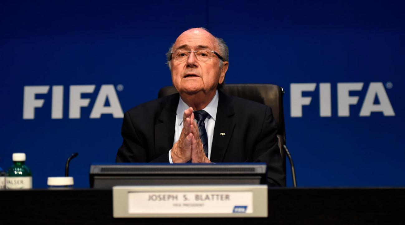 sepp blatter says he is not corrupt and will go to heaven