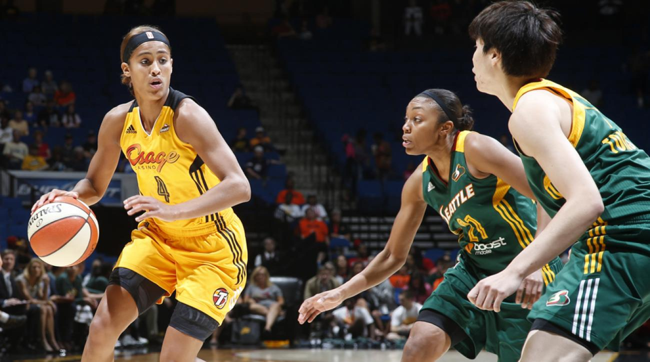 Skylar Diggins is out for the season with an injury.