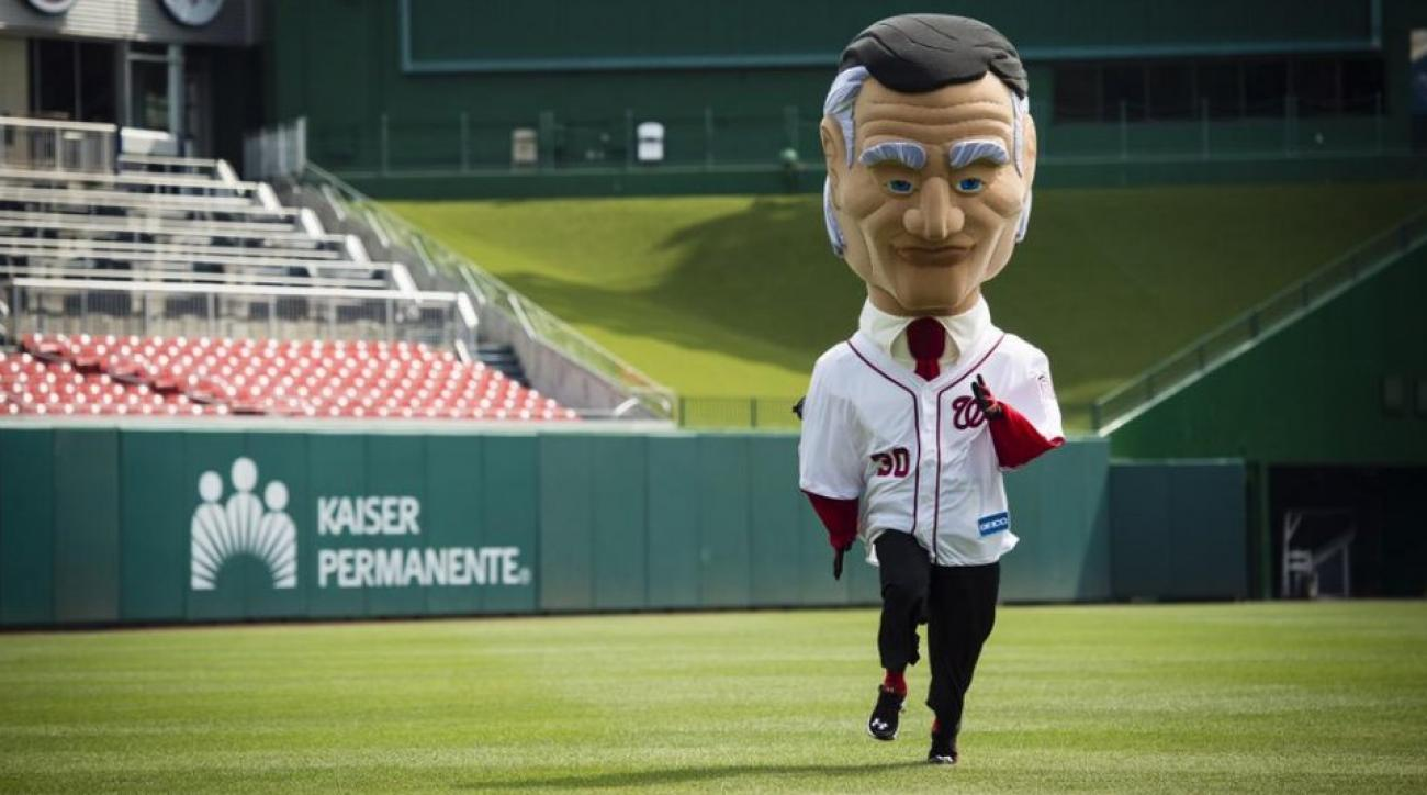 Calvin Coolidge will join the Nationals racing presidents