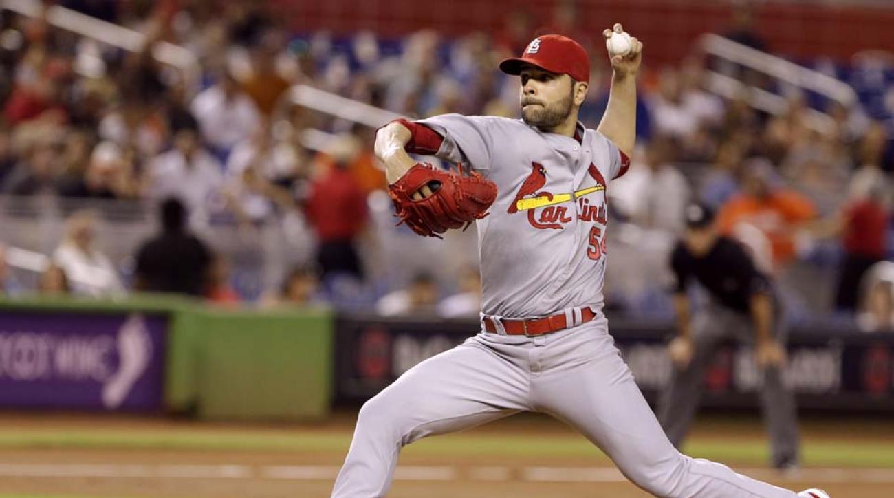 Cardinals' Jaime Garcia has start pushed back