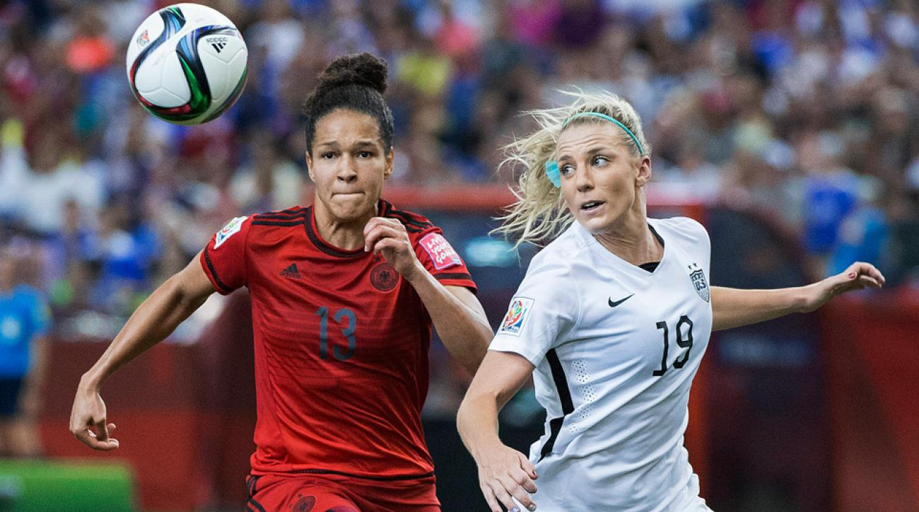 Germany's Celia Sasic and USA's Julie Johnston are two finalists for Golden Ball at the 2015 FIFA Women's World Cup