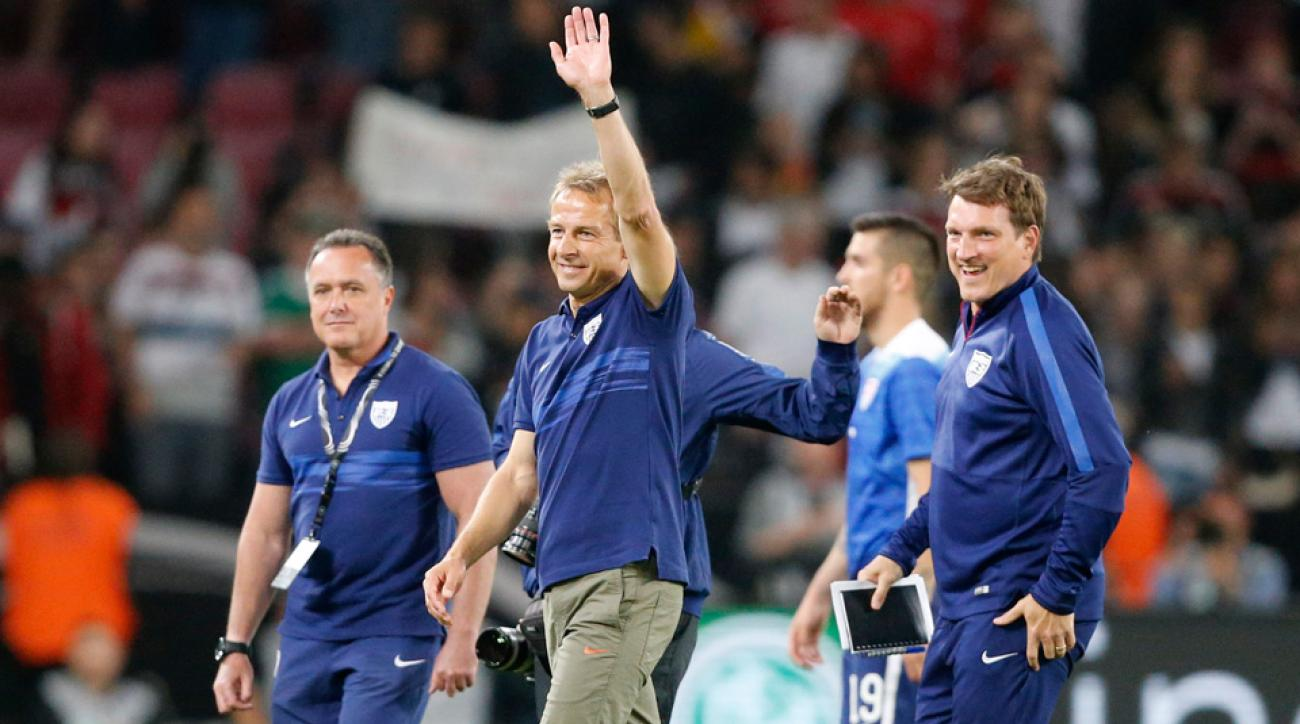 Jurgen Klinsmann guides the USA against Guatemala in a final tune-up before the CONCACAF Gold Cup