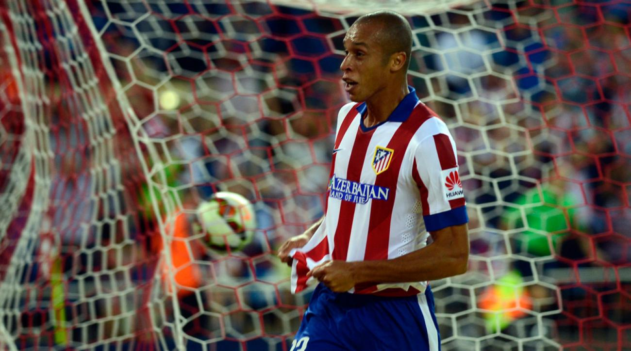 Miranda is moving from Atletico Madrid to Inter Milan