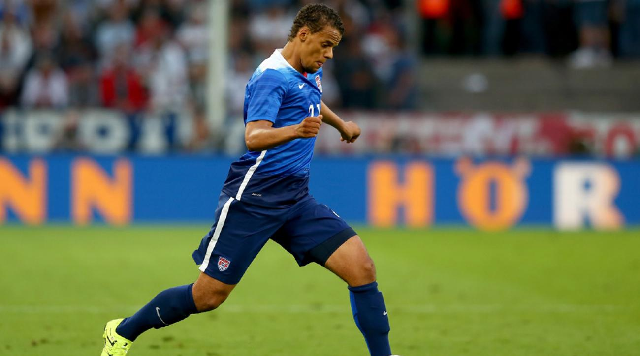 Timmy Chandler scored his first goal for the U.S. men's national team against Guatemala Friday night.