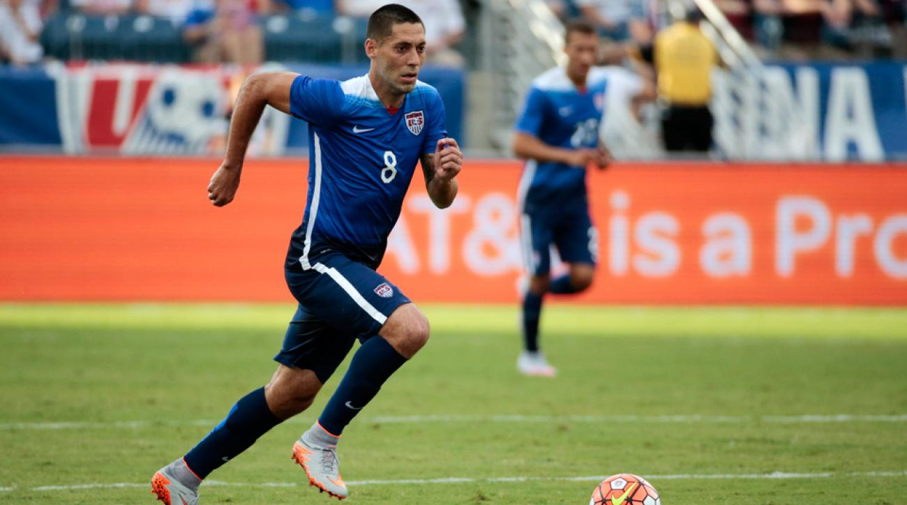 Clint Dempsey scored on a penalty kick to give the USA a 3-0 lead over Guatemala