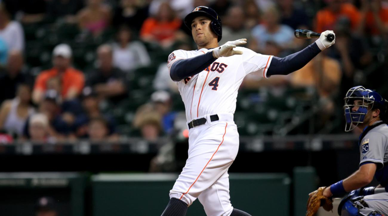 George Springer to DL with broken wrist