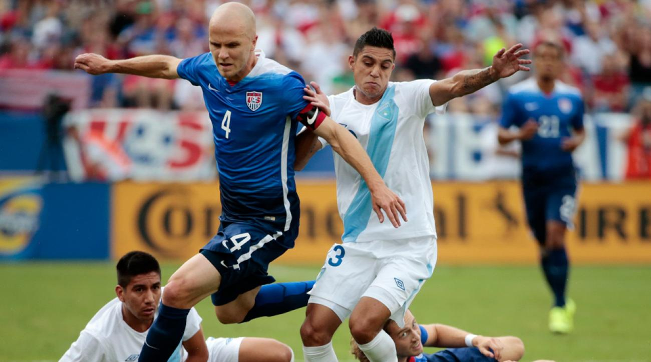 Michael Bradley captained the USA to a 4-0 win over Guatemala in a pre-Gold Cup friendly.