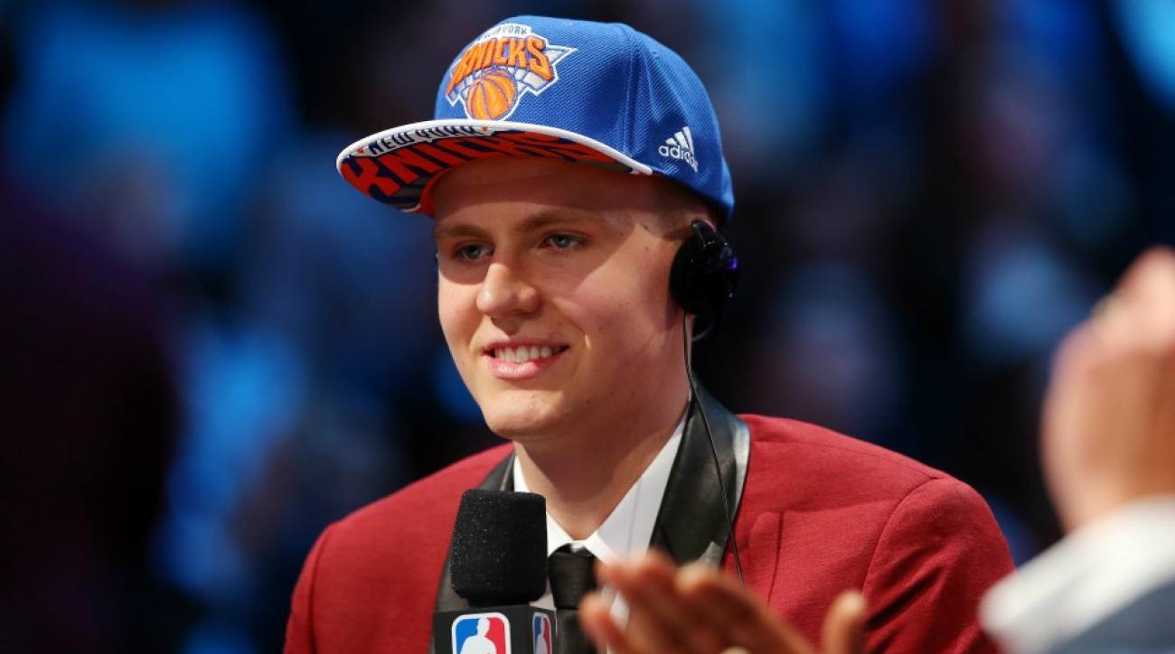 Knicks Kristaps Porzingis has his own Latvia tribute rap video