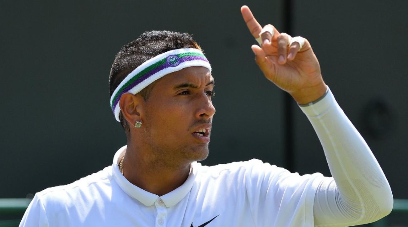 Nick Kyrgios's Wimbledon headband banned by Wimbledon