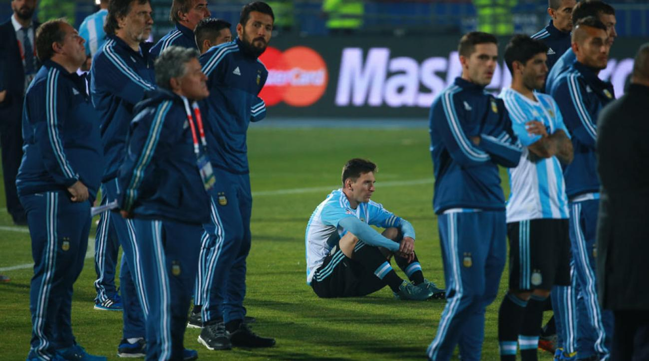 Argentinas Painful Title Drought Continues With Loss In Copa Final