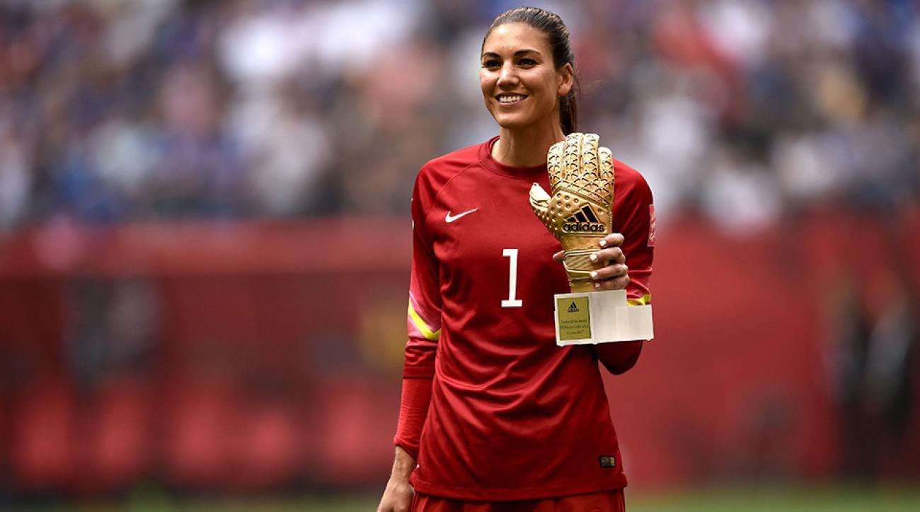 Women S World Cup Usa S Hope Solo Wins Golden Glove Award