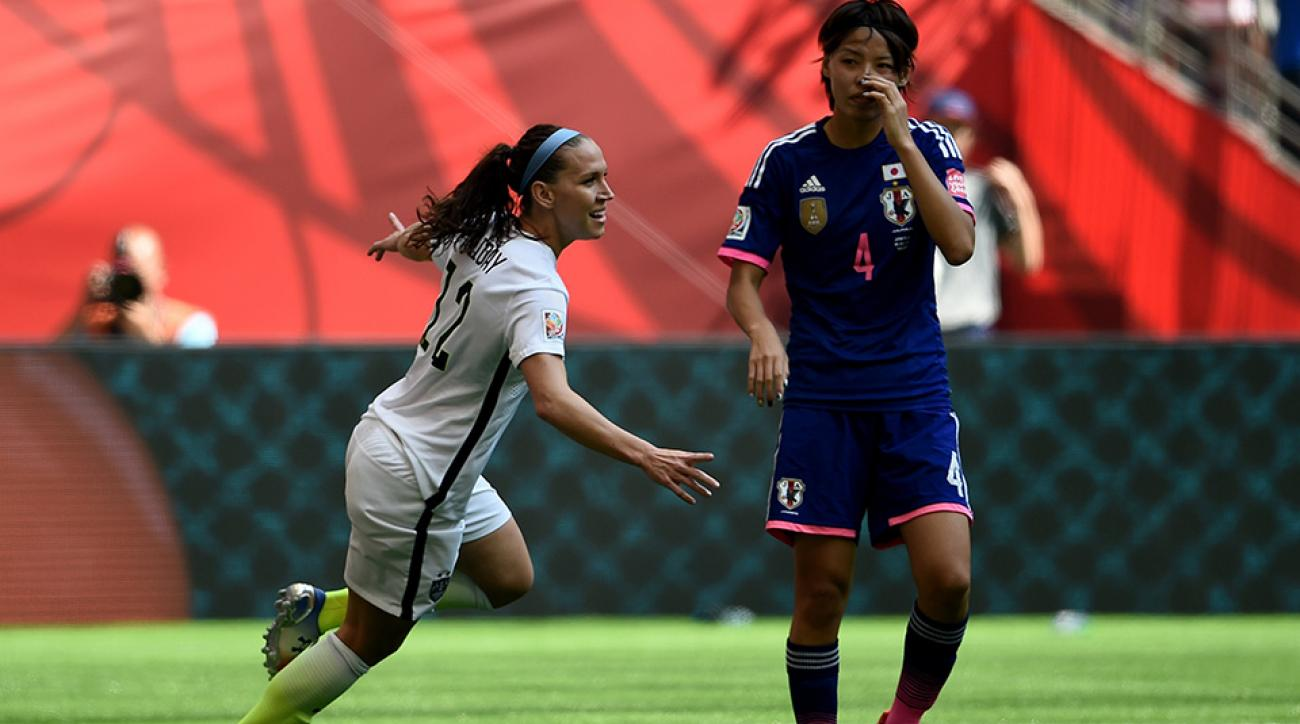 womens world cup usa japan lauren holiday goal video