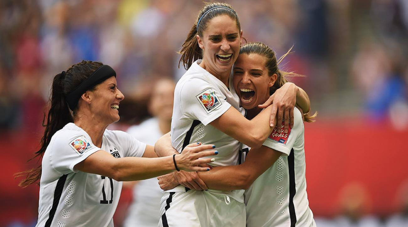 womens world cup usa japan tobin heath goal video