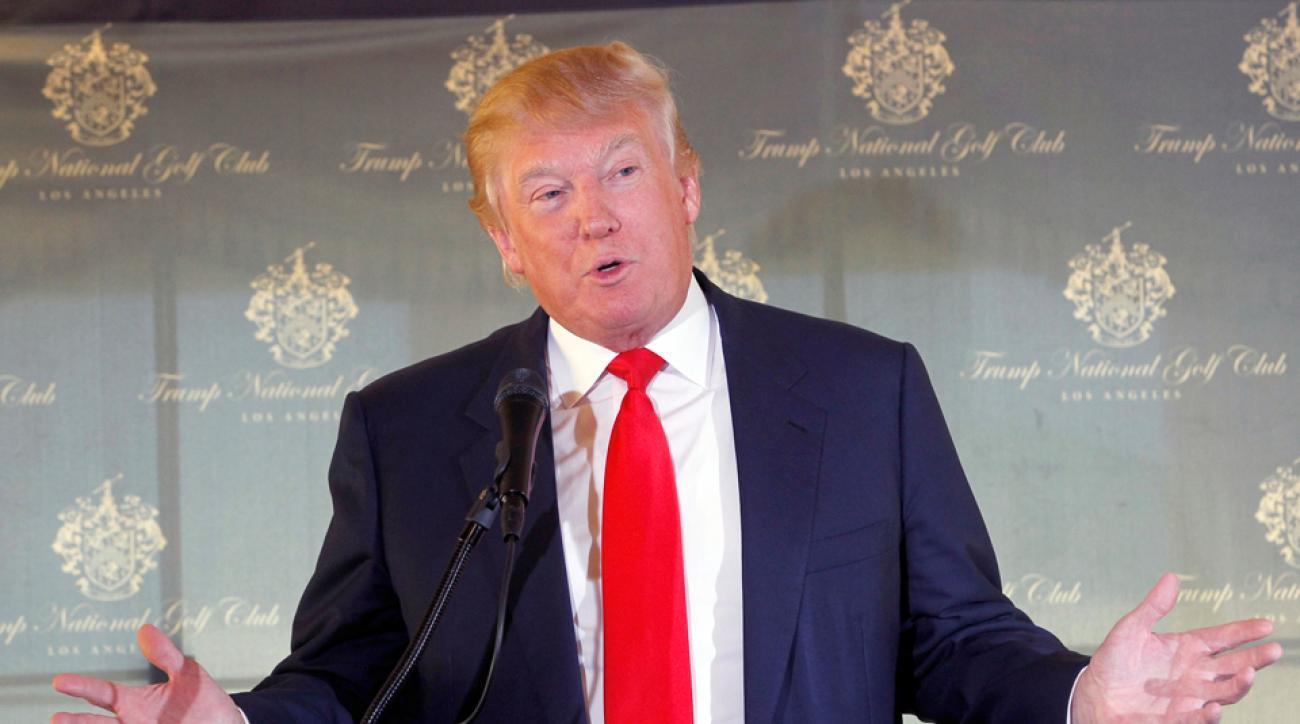 Trump National Golf Club ESPN golf charity tournament moving