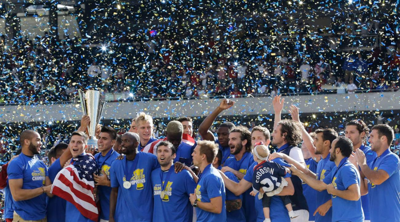 gold cup 2015 schecule
