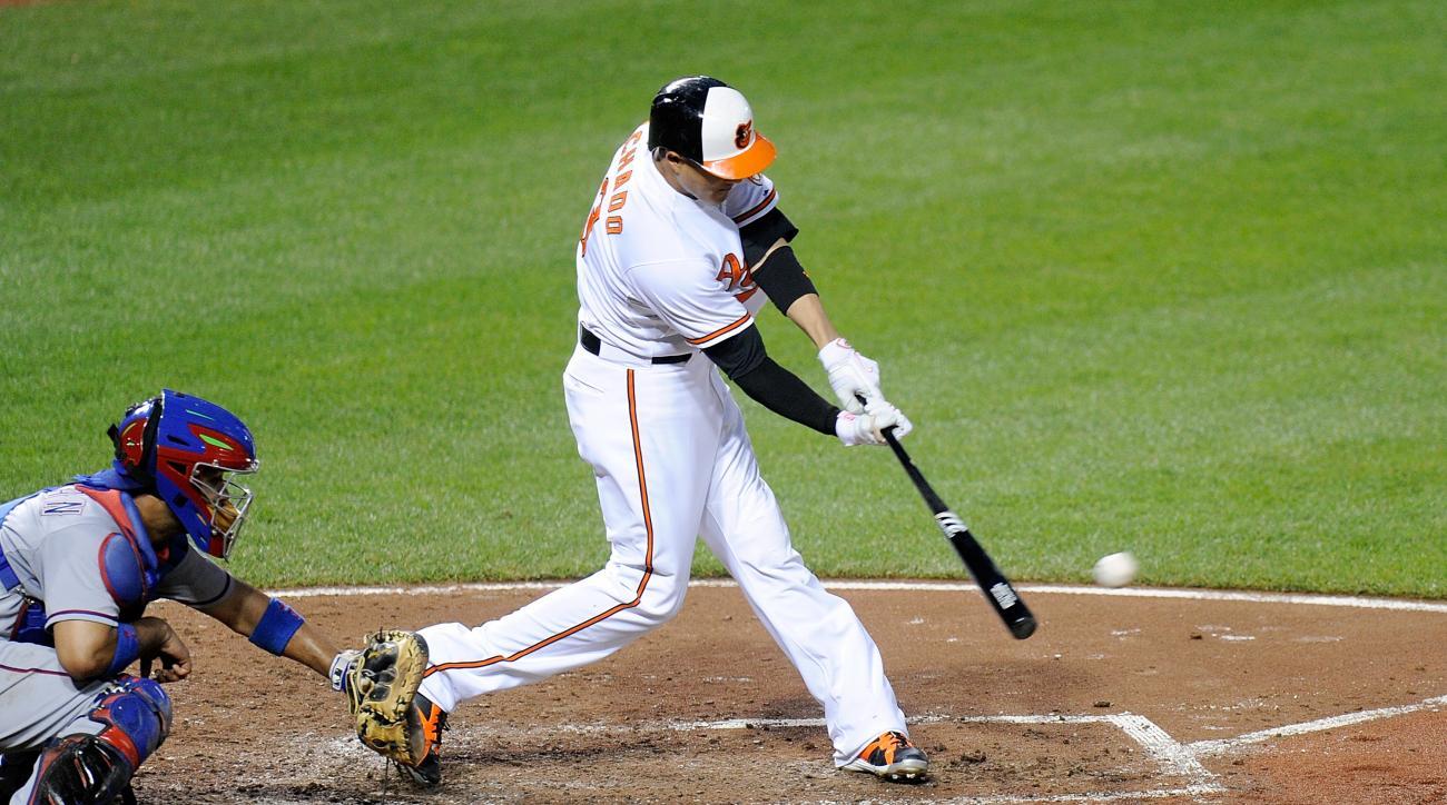 Baltimore Orioles Manny Machado home run birthday all star game