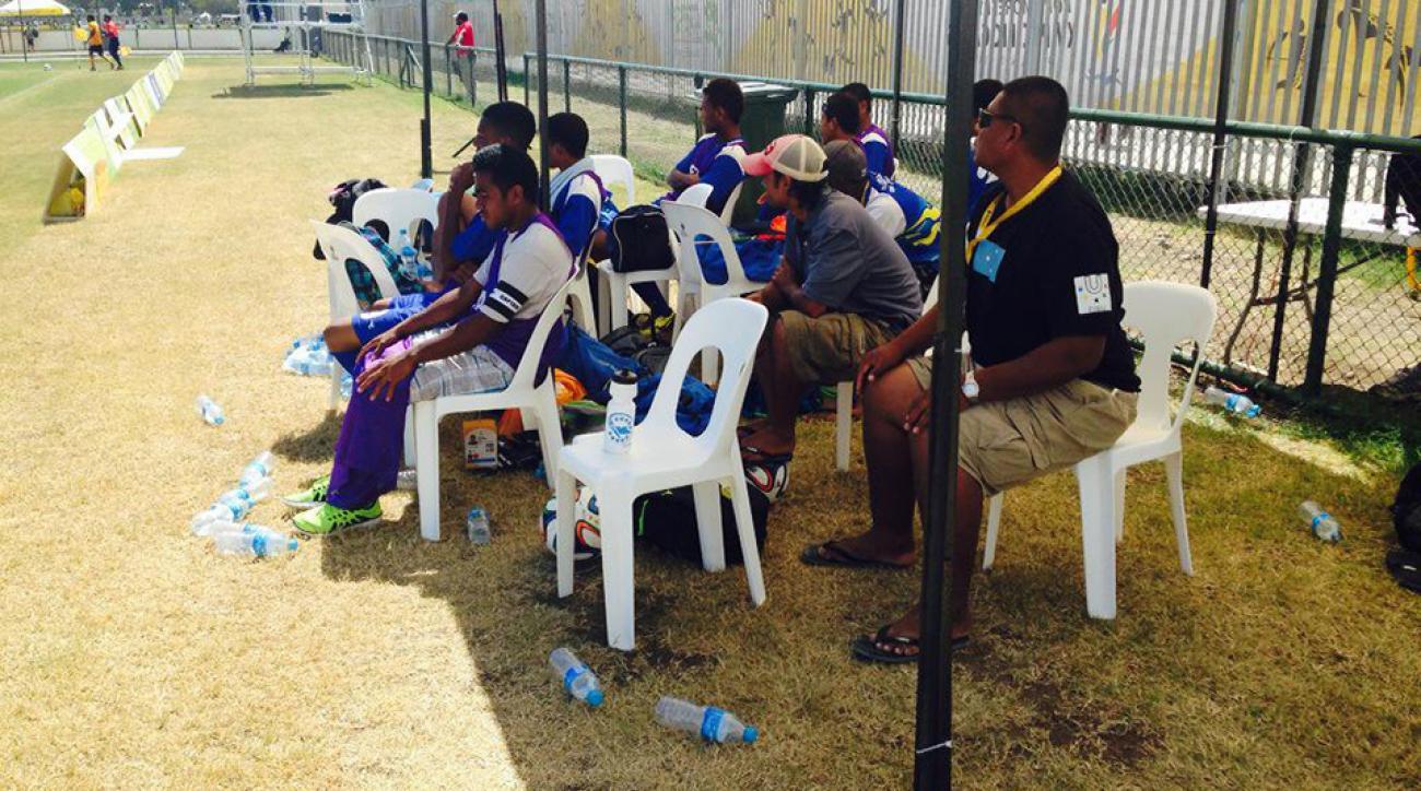 micronesia vanuatu pacific games soccer blowout