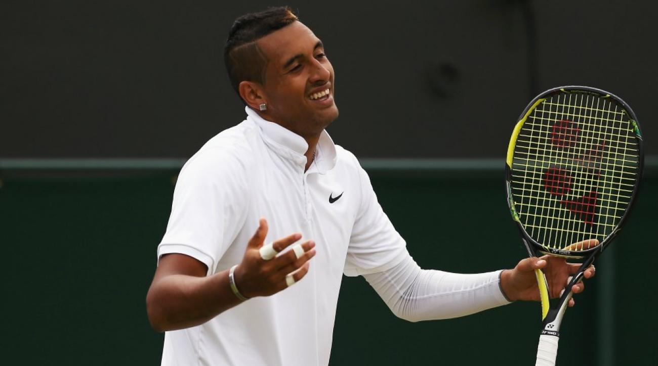 Nick Kyrgios's fans are rubbing vegemite on their faces