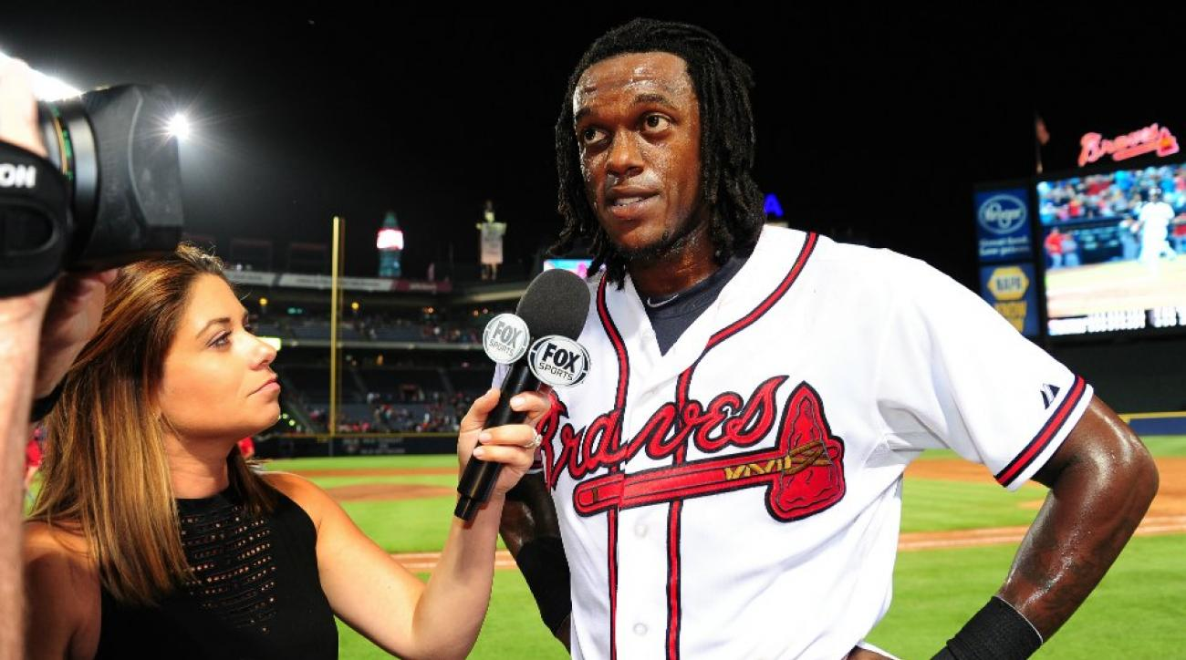 Braves' Cameron Maybin gets Lil B's blessing for the cooking dance