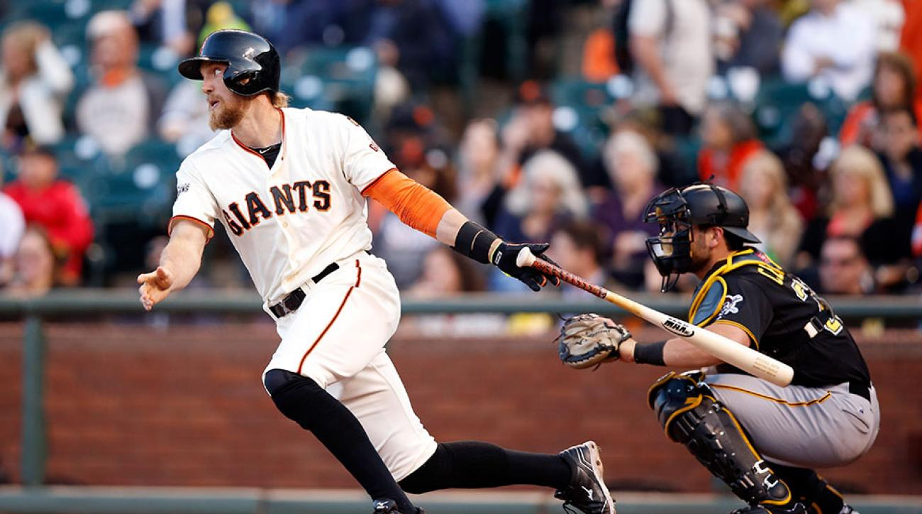 San Francisco Giants activate Hunter Pence DL
