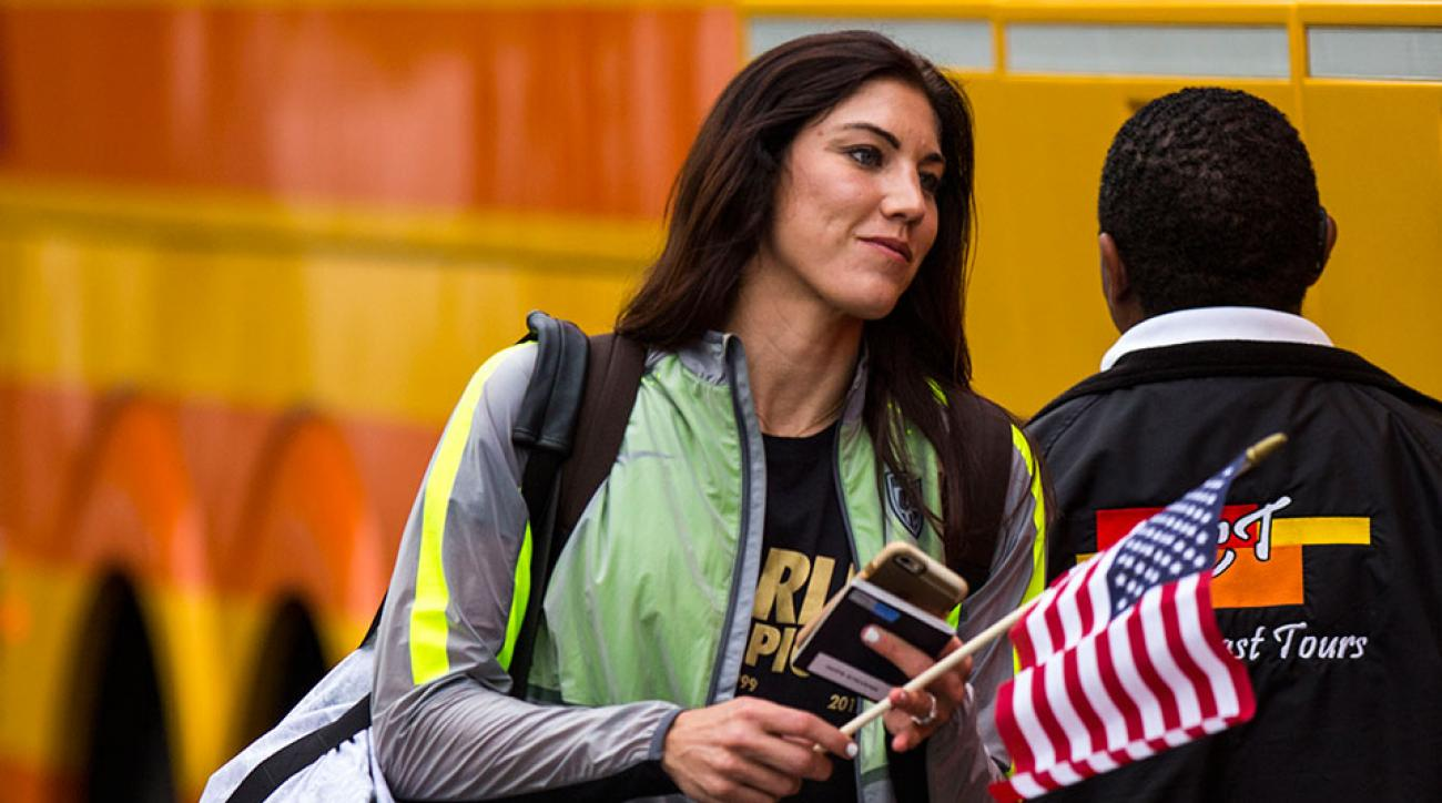 Hope Solo World Cup pay equality female athletes