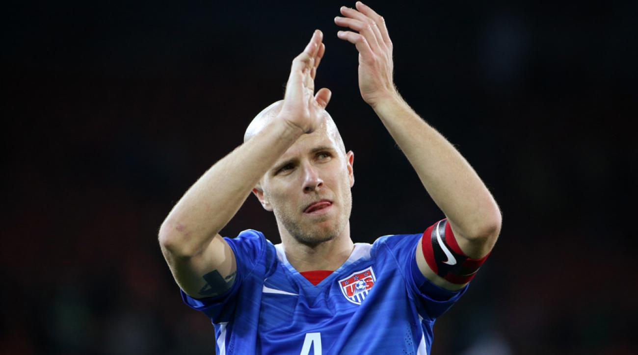 Michael Bradley earned his 100th cap for the US men's national team.