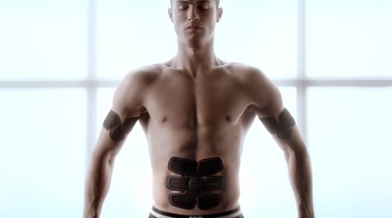 cristiano ronaldo muscle stimulator