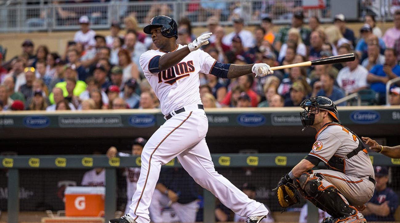 Minnesota Twins Miguel Sano first career HR