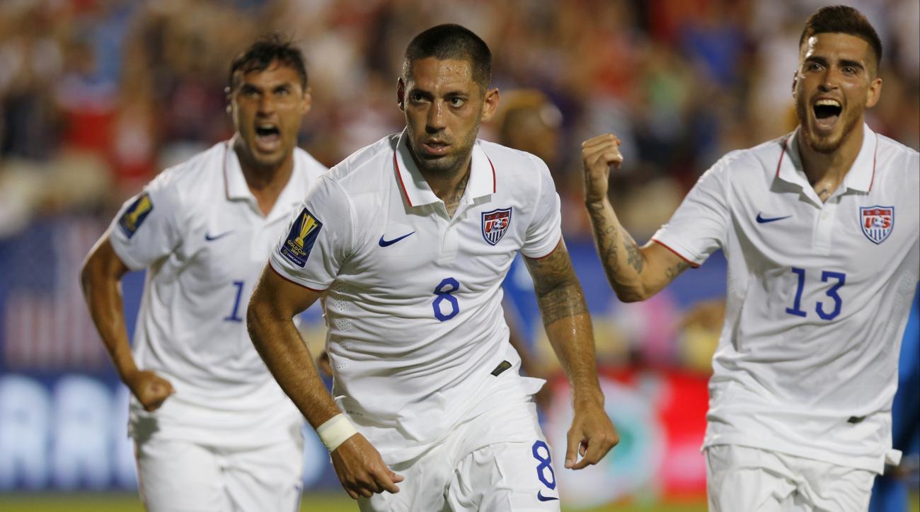clint dempsey usmnt honduras CONCACAF gold cup