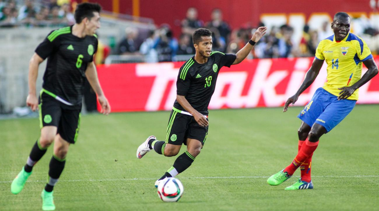 Mexico star Giovani dos Santos has been linked to a move to the LA Galaxy