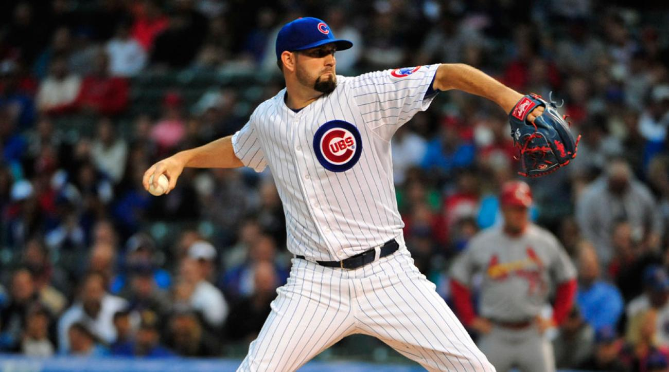 chicago cubs jason hammel injury