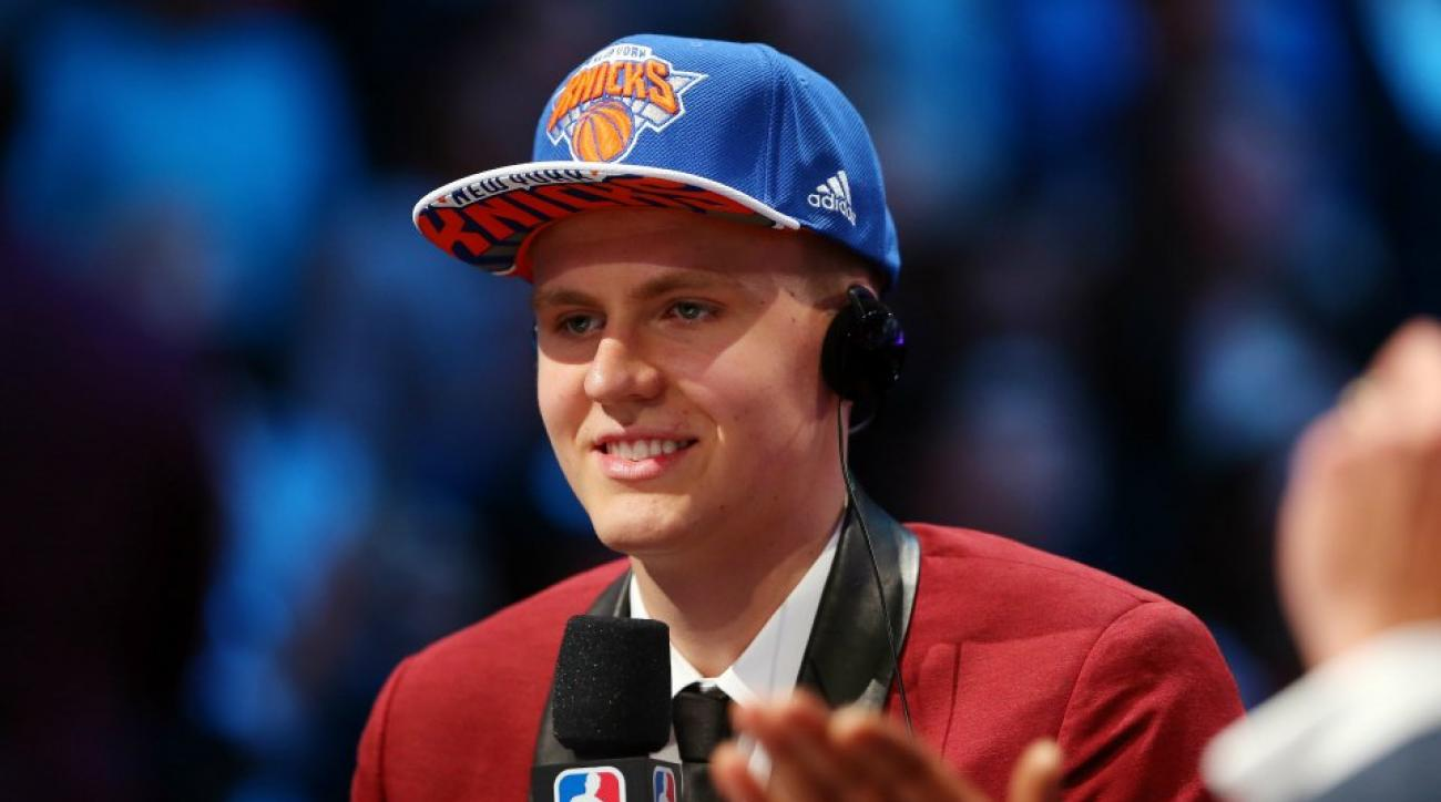 New York Knicks Kristaps Porzingis take a hip hop quiz