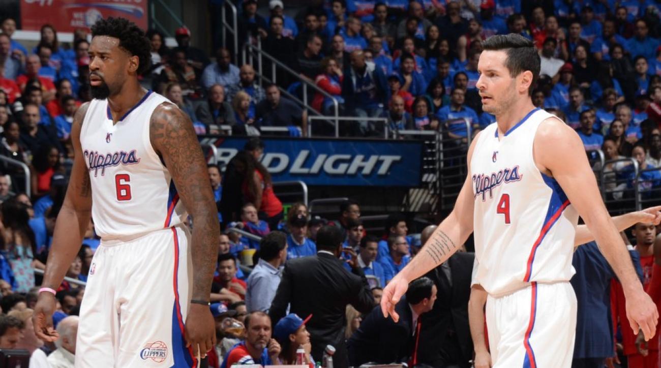 Clippers J.J. Redick tweets emojis after DeAndre Jordan returns to team