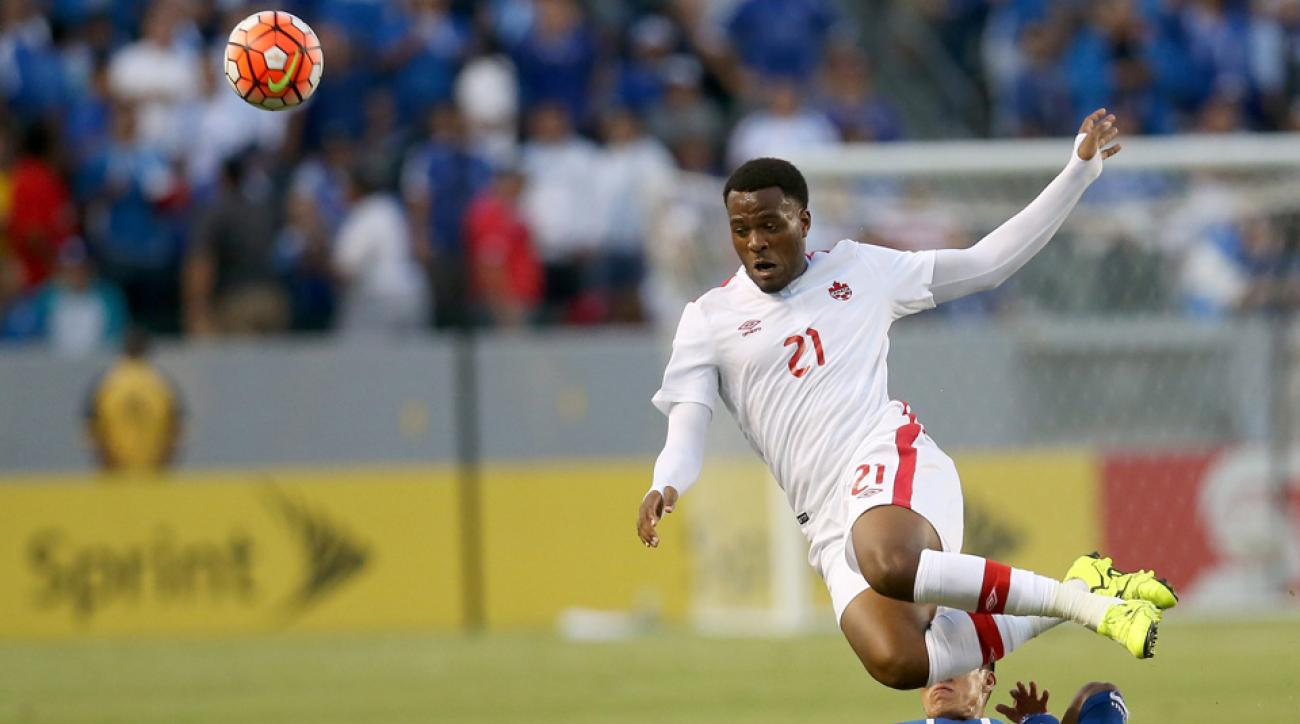Cyle Larin endured an awful miss in the Gold Cup for Canada