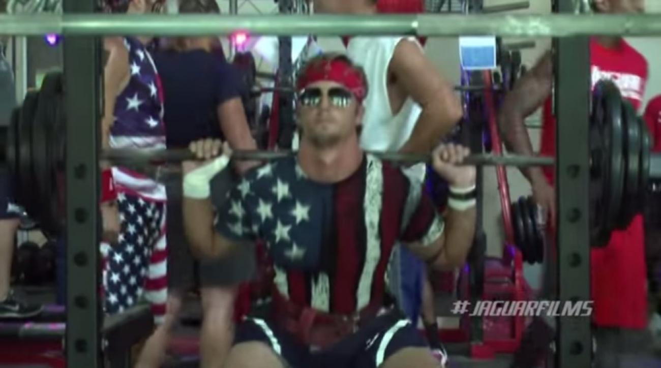 South Alabama football has a star spangled squatathon