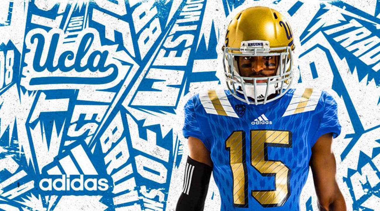 quality design c2531 21900 UCLA football: Bruins unveil new jerseys by Adidas | SI.com