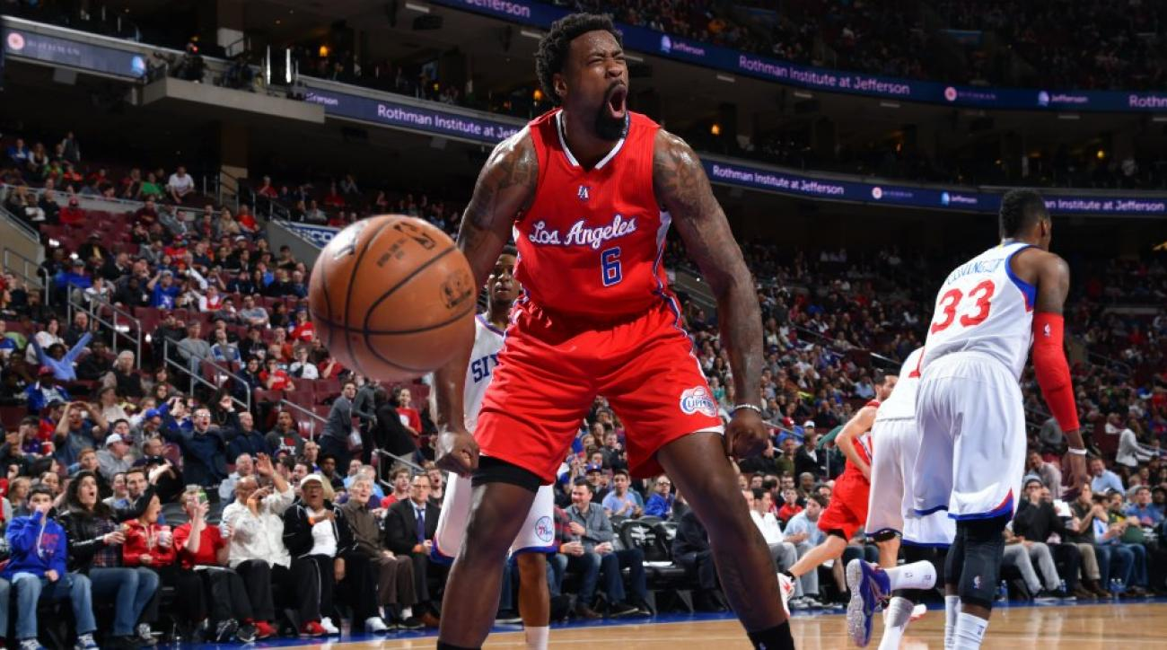 DeAndre Jordan Clippers Mavericks Wolf of Wall Street video