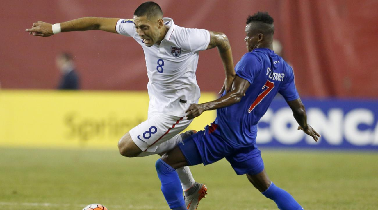 Clint Dempsey played hero again, scoring the lone goal in the USA's 1-0 win over Haiti in the Gold Cup