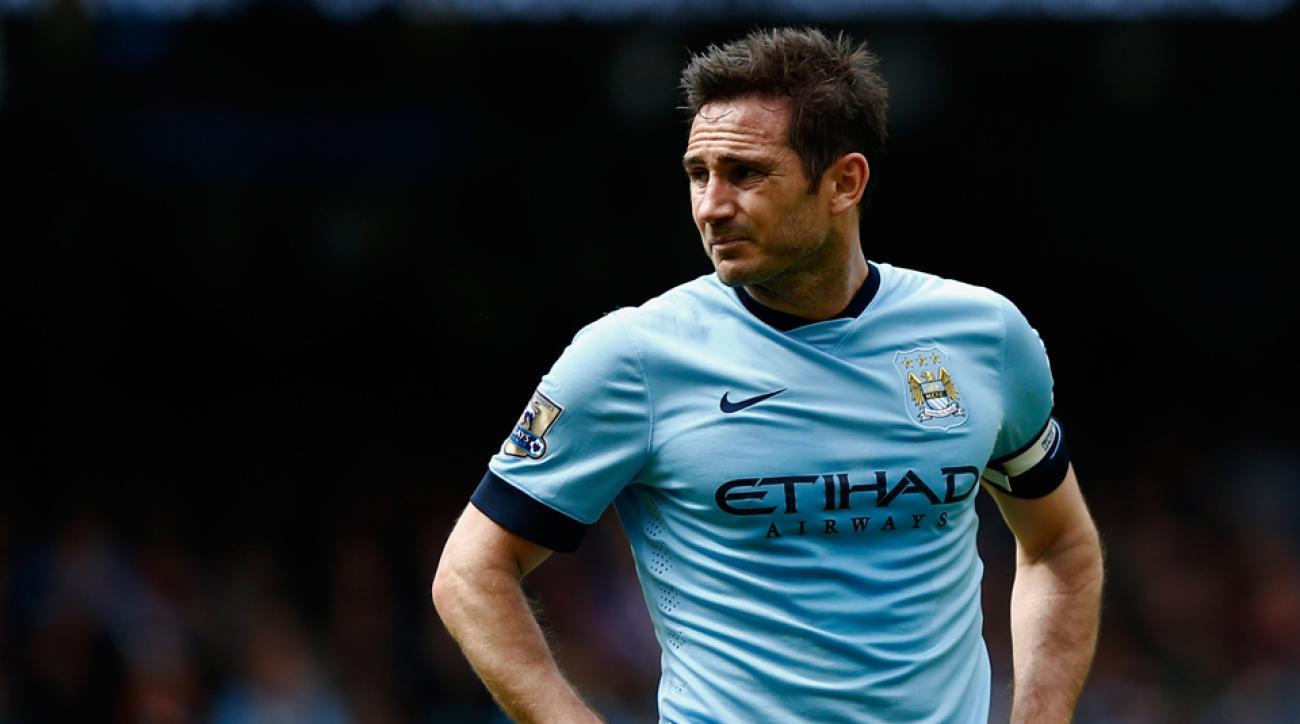 Frank Lampard injury NYCFC out vs Toronto FC