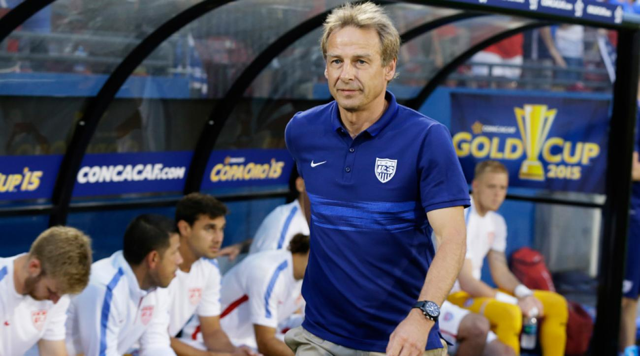 Jurgen Klinsmann and the USA take on Haiti in the Gold Cup Friday night