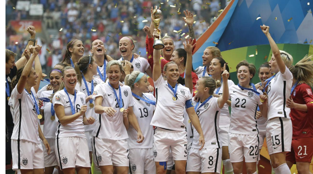 USWNT No. 1 in FIFA rankings