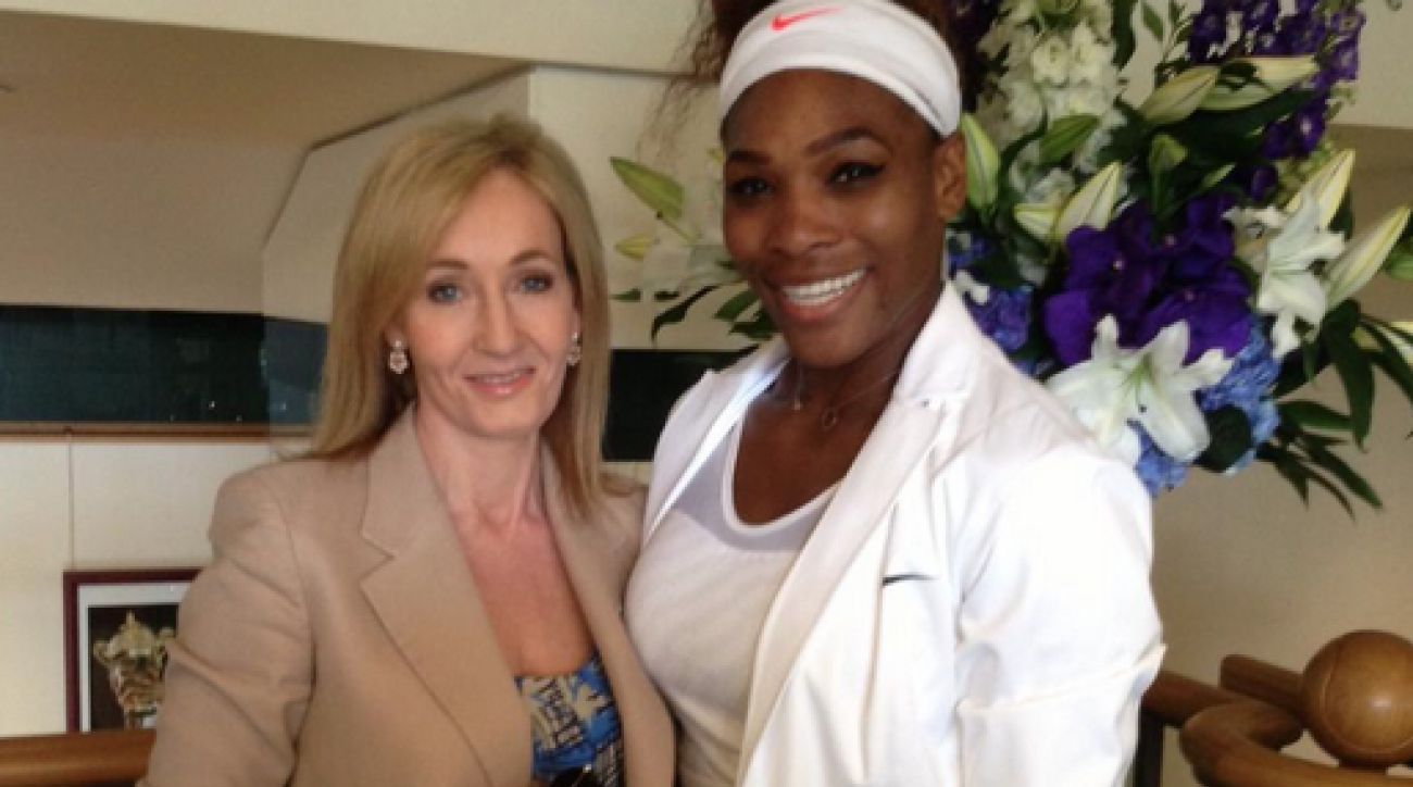 serena williams jk rowling twitter wimbledon title