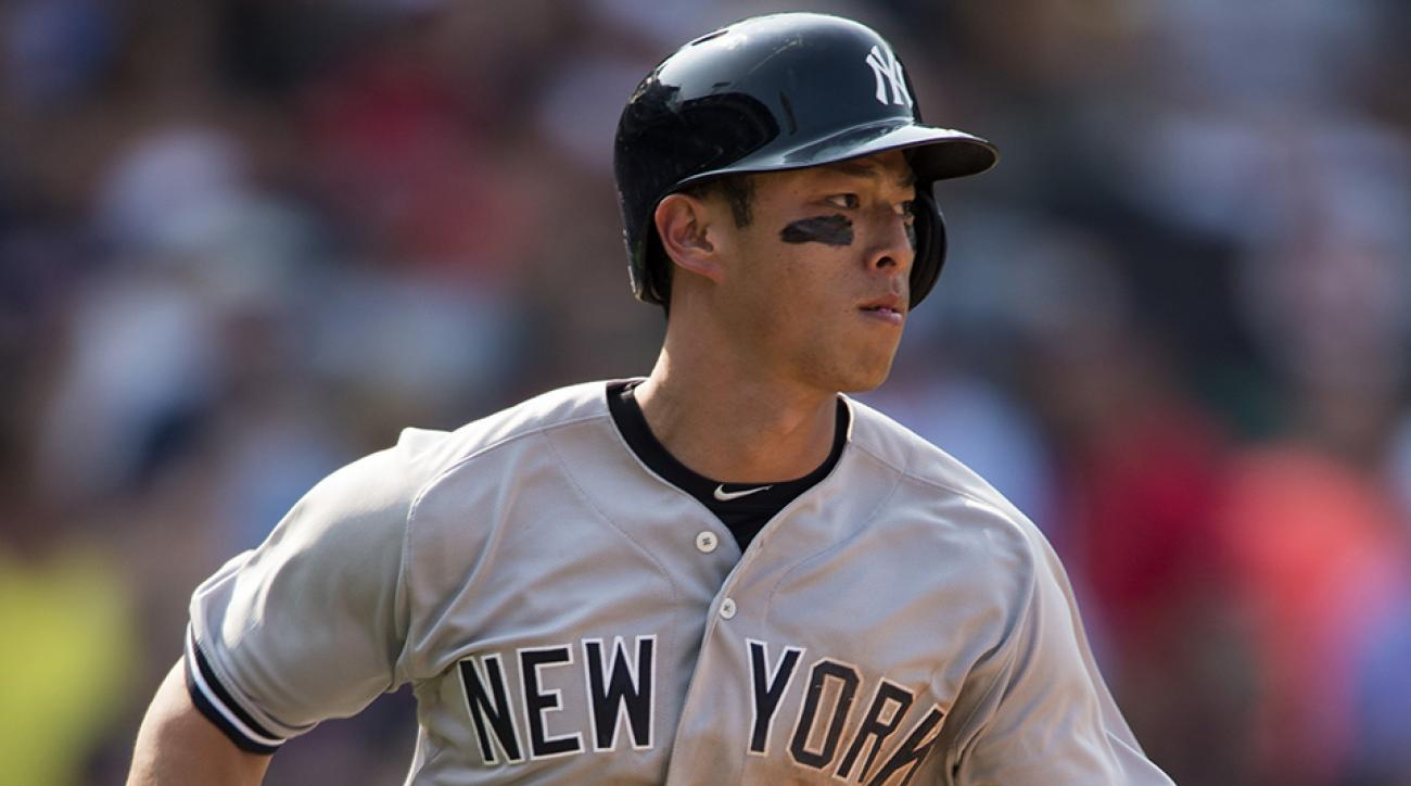 new york yankees rob refsnyder first home run video